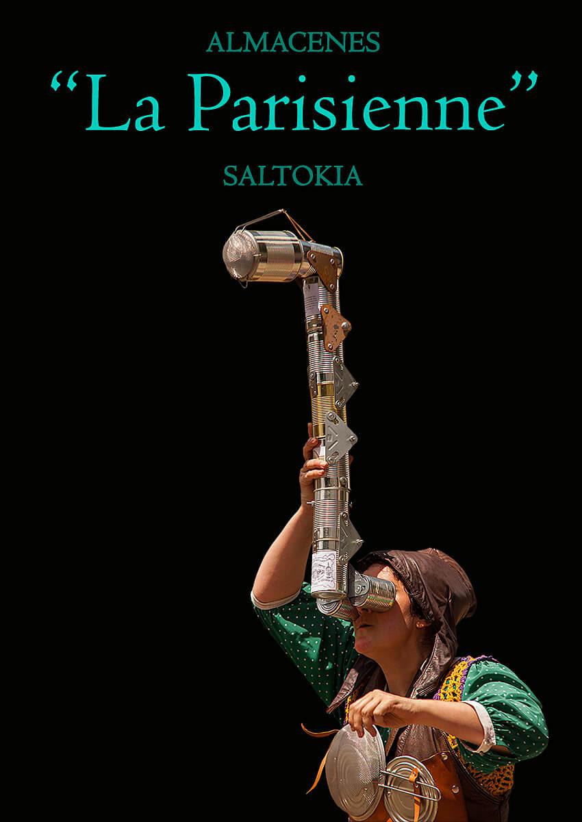 Almacenes la Parisienne, espectáculo de Pez Limbo Creaciones